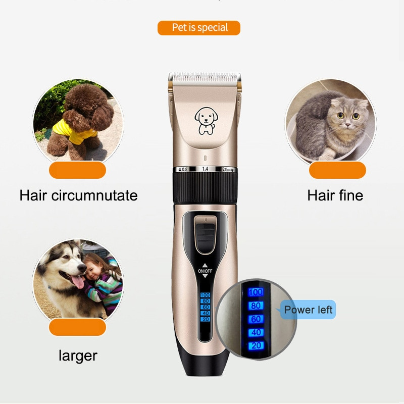 Pet Dog Hair Clippers